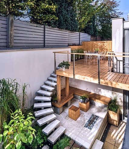 Terrasse bois, extérieur bois, deco naturelle, deco ecologique, slowdeco, slowlife, slowhome