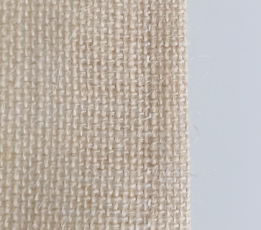 DIY : la toile de jute à coudre pour la descente de lit pure laine Slow Déco, deco écoresponsable, slow home