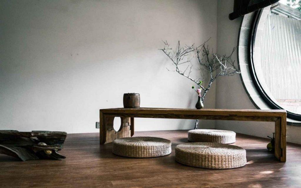 désencombrer sa maison-salon-minimaliste-slow-deco