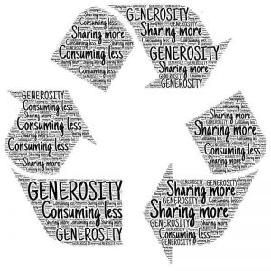 recyclage-désencombrement-consommation-générosité